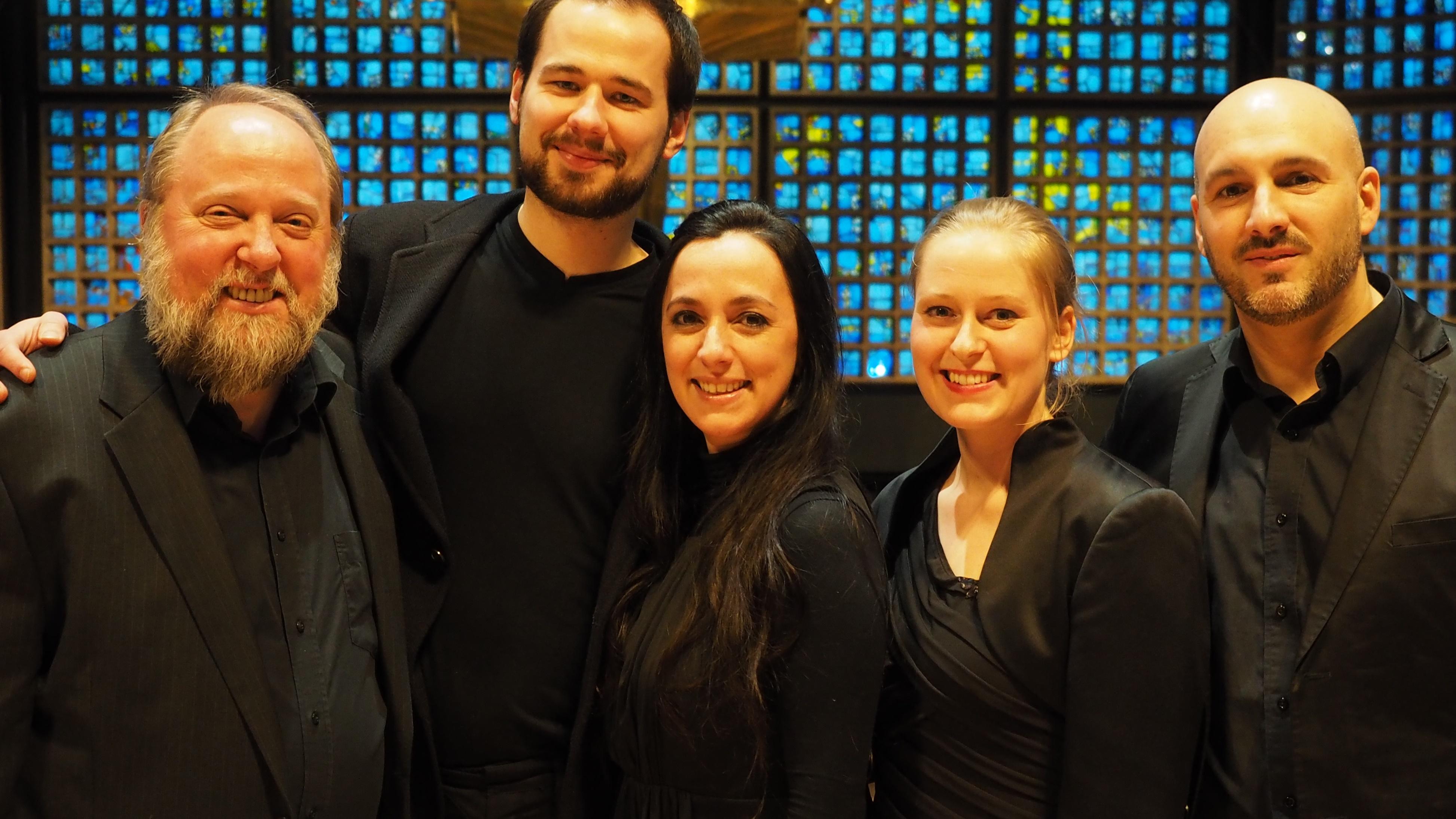 Die Vokalsolisten der Kaiser-Wilhem-Gedächtnis-Kirche