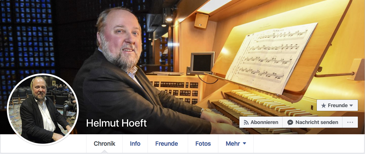 Helmut Hoeft auf Facebook